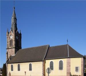 Anjoutey Église Saint Vendelin 300x267 Historique