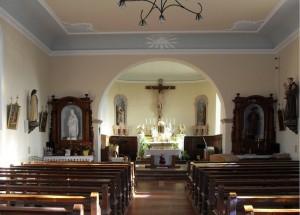 Anjoutey Église Saint Vendelin à lintérieur 300x215 Historique